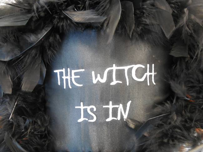 The witch is in.