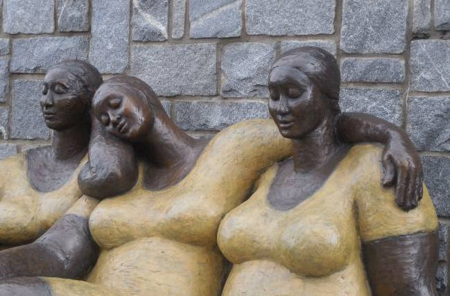 "Sculpture: Friends"" by Nnamdi Okonkwo"