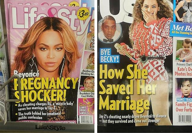 image of celebrity rag mag