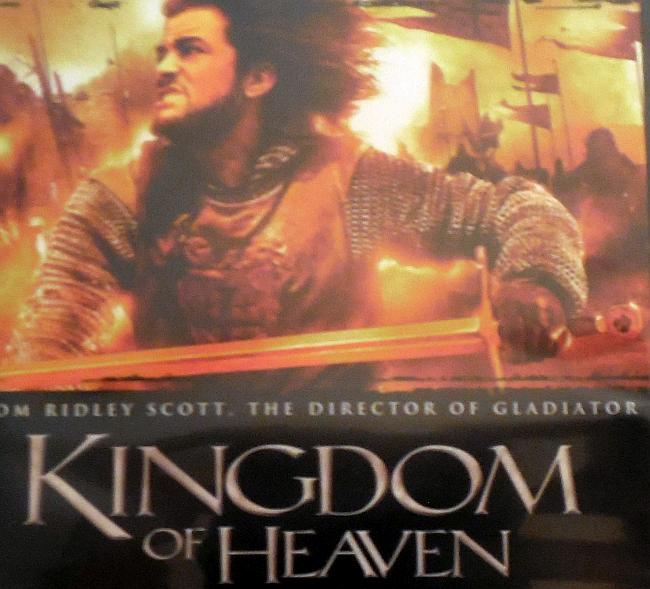 Kingdom of Heaven (2005) DVD cover